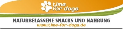 time for dogs Naturbelassende Snacks und Nahrung